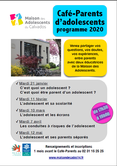 Mardi 12 mai 2020 à Caen : Café parents d'adolecents